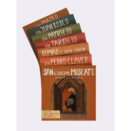 """Coleccion Libros """"Hubo una vez un santo..."""""""