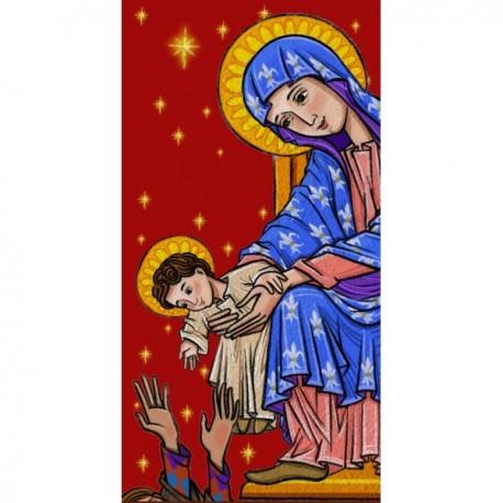 Balconera Virgen Románica