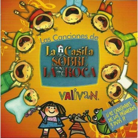 CD 1 de Canciones de La Casita Sobre La Roca