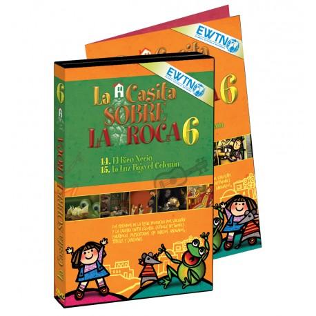 DVD 6 La Casita Sobre La Roca