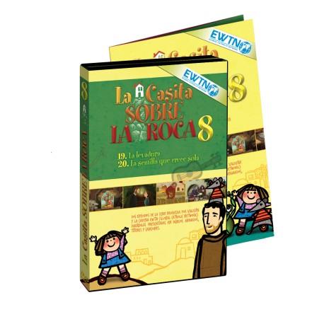 DVD 8 La Casita Sobre La Roca - Valivan