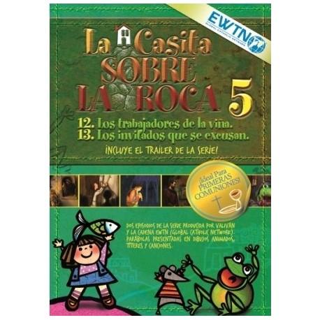 DVD 5 La Casita Sobre La Roca