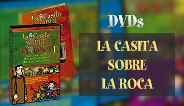 DVDs de La Casita Sobre La Roca